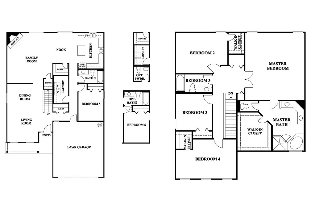Home Plans Without Garages