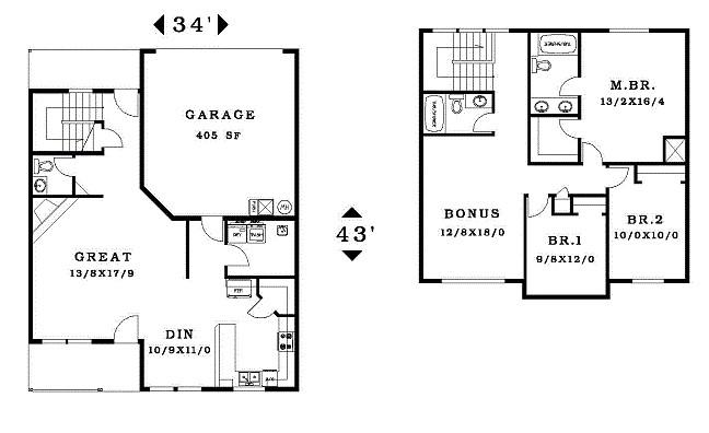 stunning 3 bedroom house plans no garage contemporary 3d house pertaining to house plans garage in back