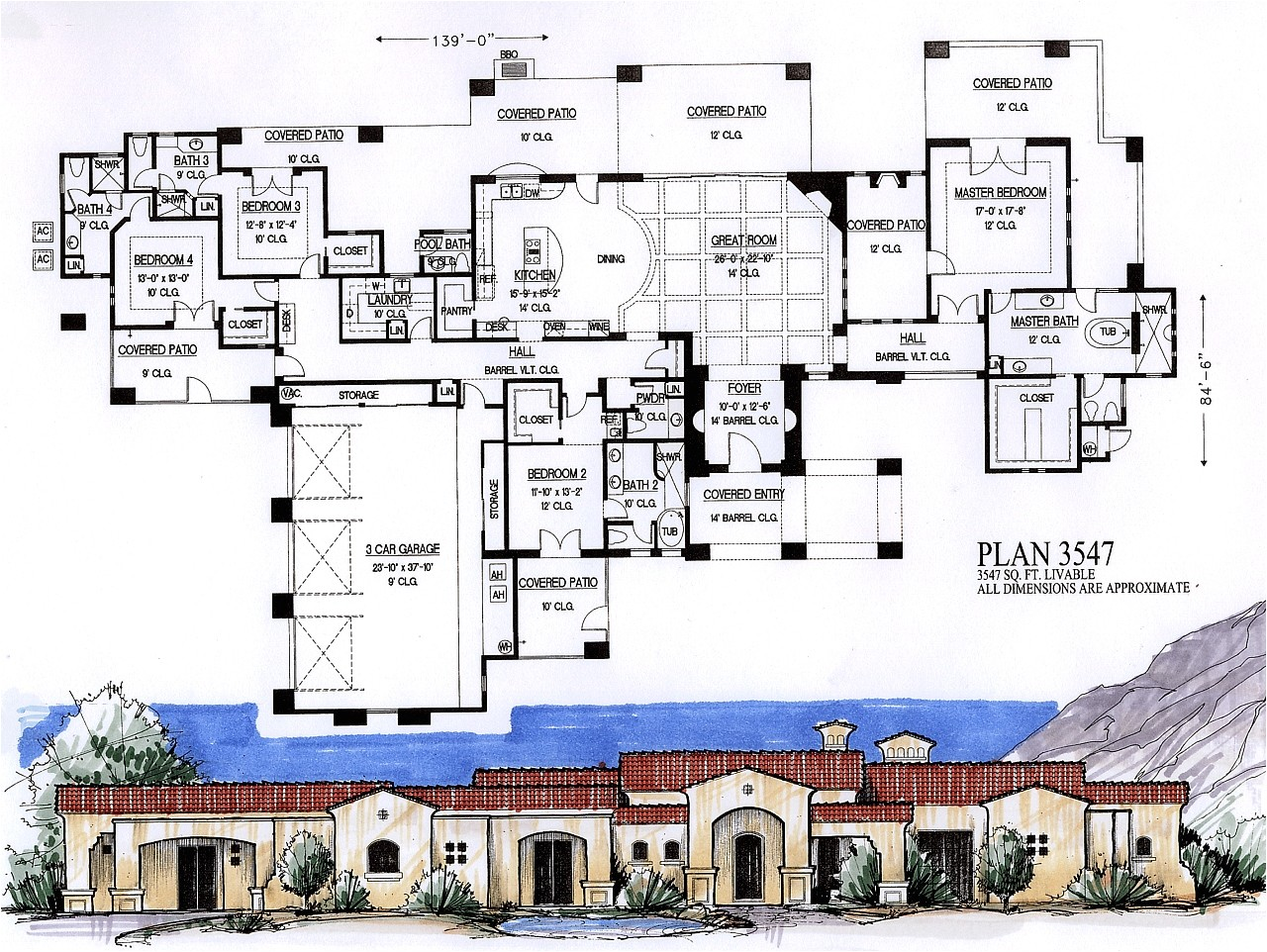 5000 square foot house plan