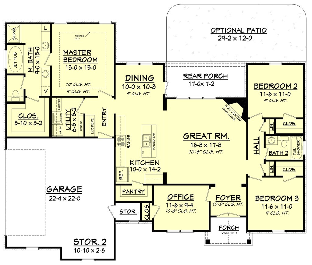 single story craftsman style house plans beautiful craftsman style house plan 3 beds 2 00 baths 1769 sq ft plan 430 99