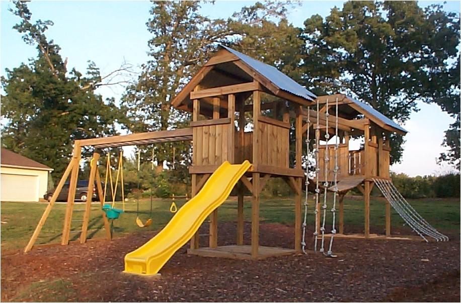 diy backyard playground plans