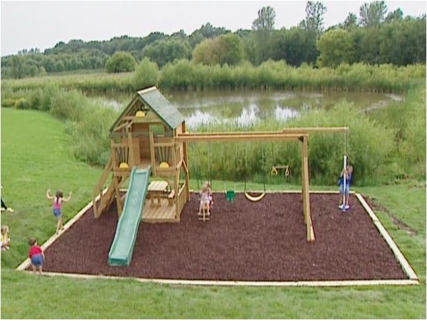 backyard playground diy