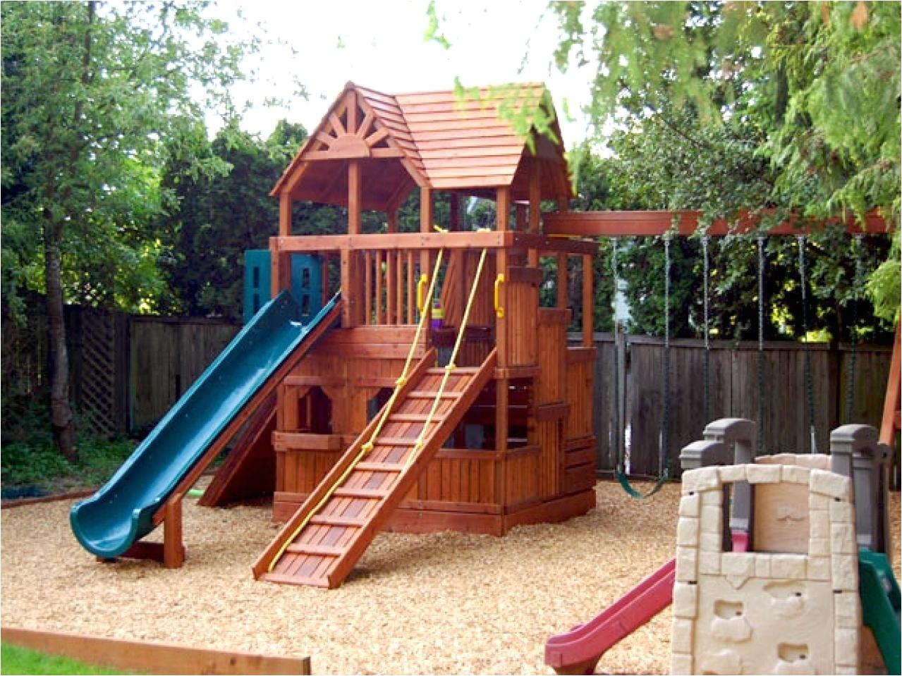 backyard playground plans
