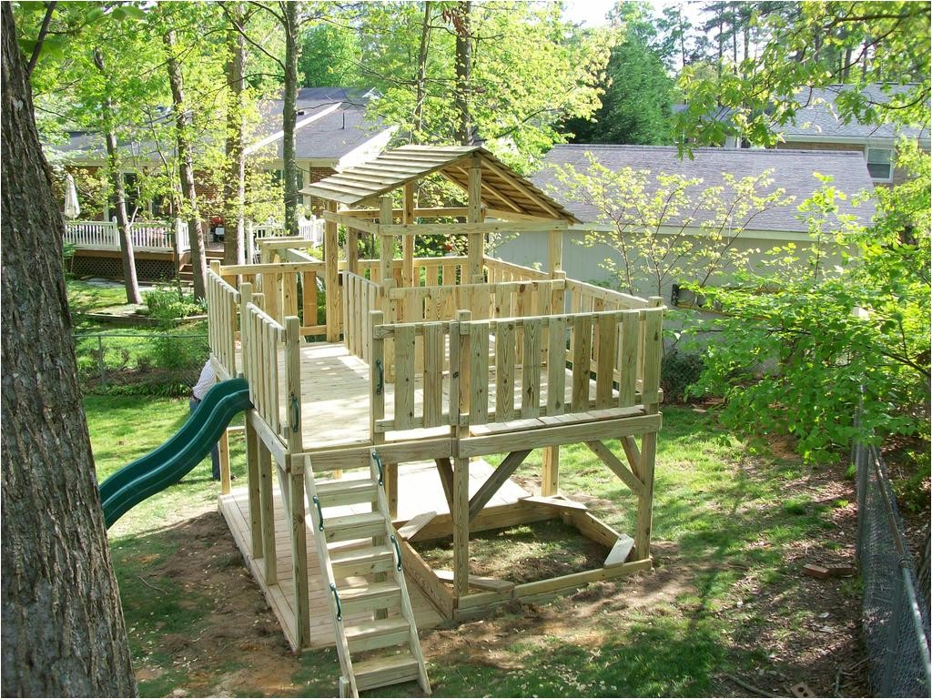 backyard playset plans 2