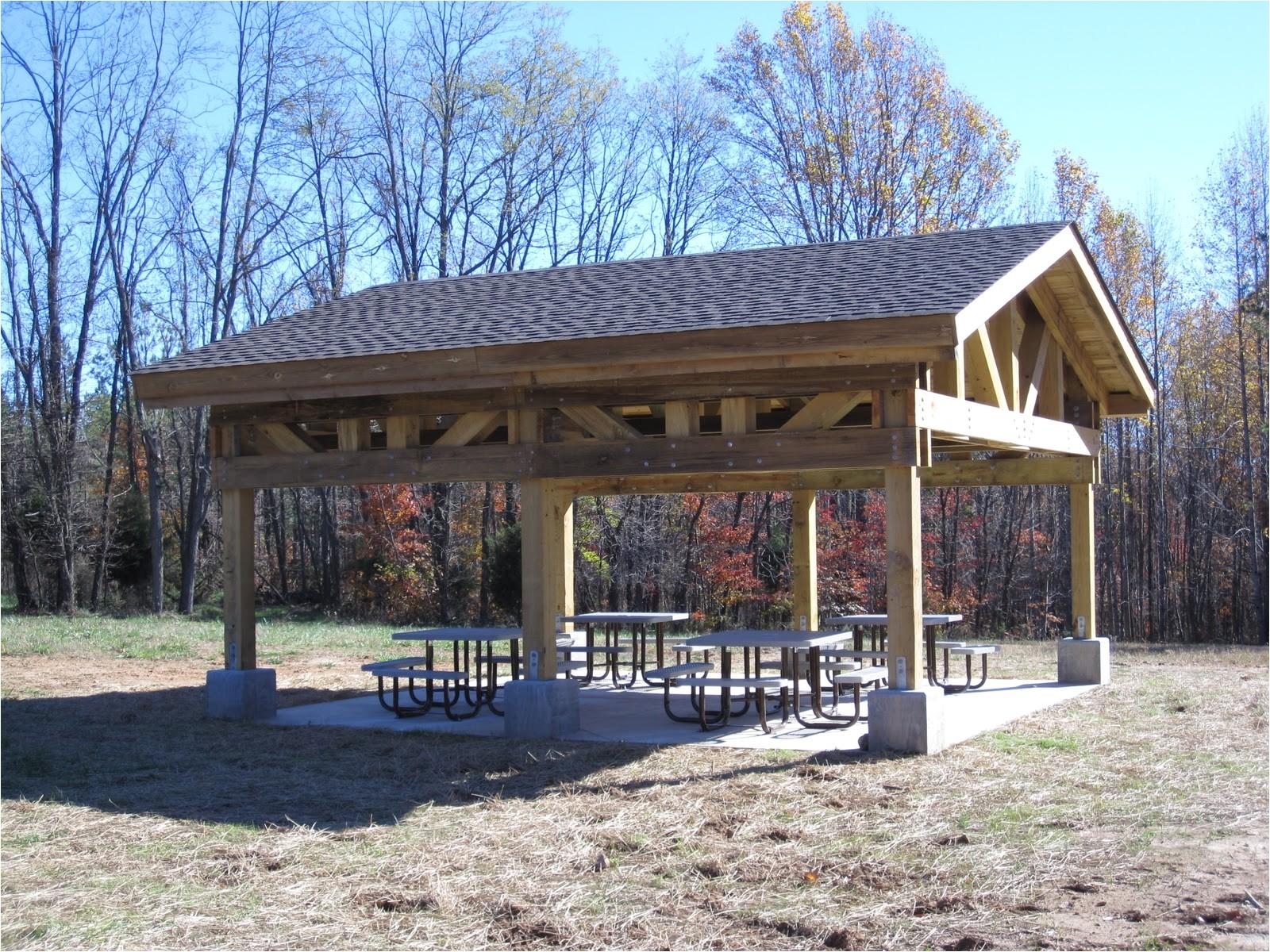 picnic shelter house plans