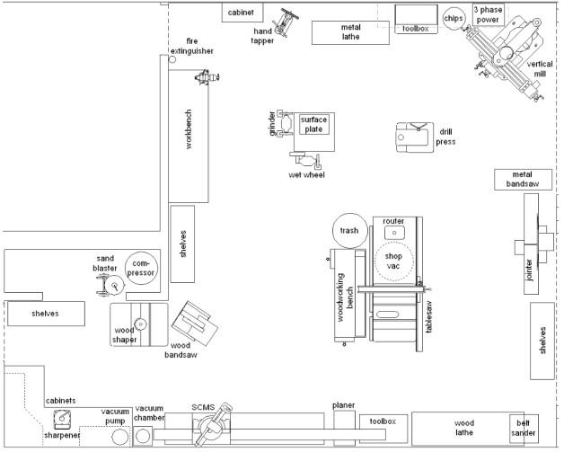 mechanic shop floor plans