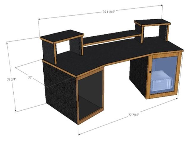 best recording studio desk ideas