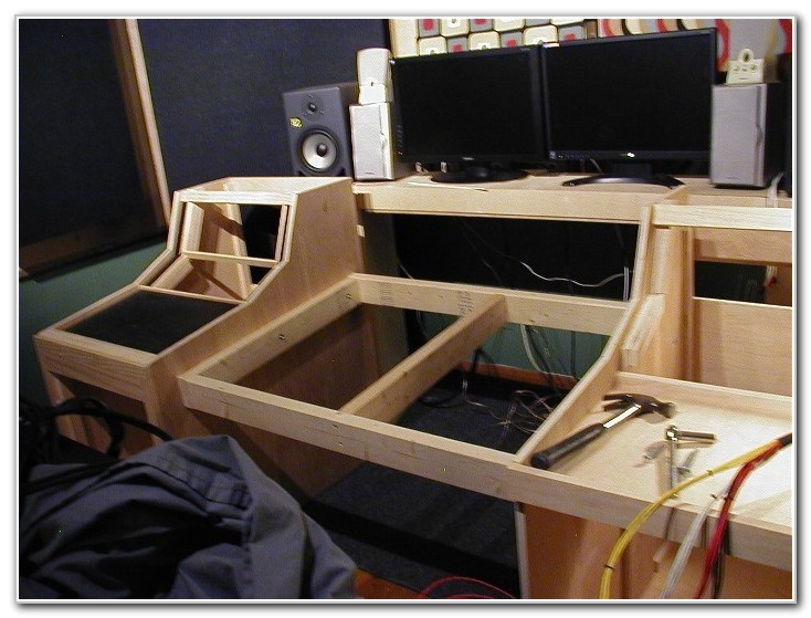 Home Studio Desk Plans Home Recording Studio Desk Plans Desk Interior Design