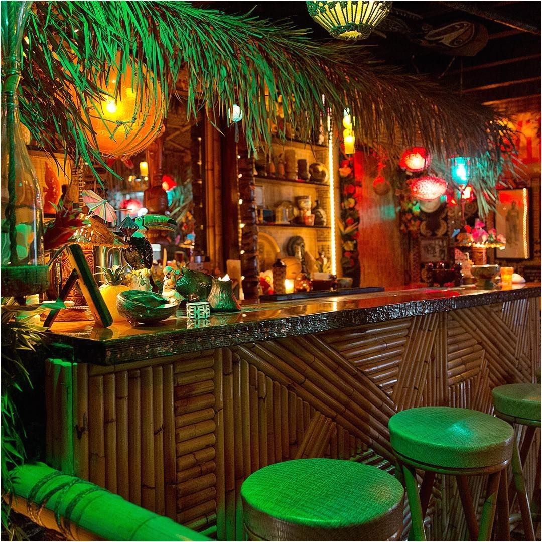 Home Tiki Bar Plans Design Inspiration This is A Friend 39 S Home Bar that