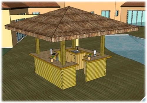 Home Tiki Bar Plans | plougonver.com