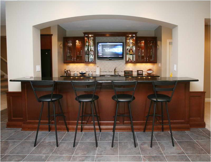 wet bar designs for small space