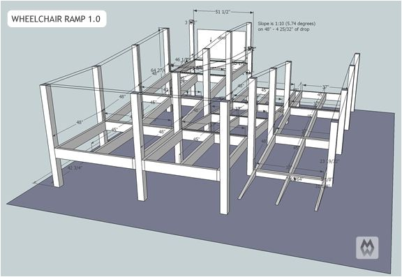 Home Wheelchair Ramp Plans 17 Best Images About Wheelchair Ramp On Pinterest Image