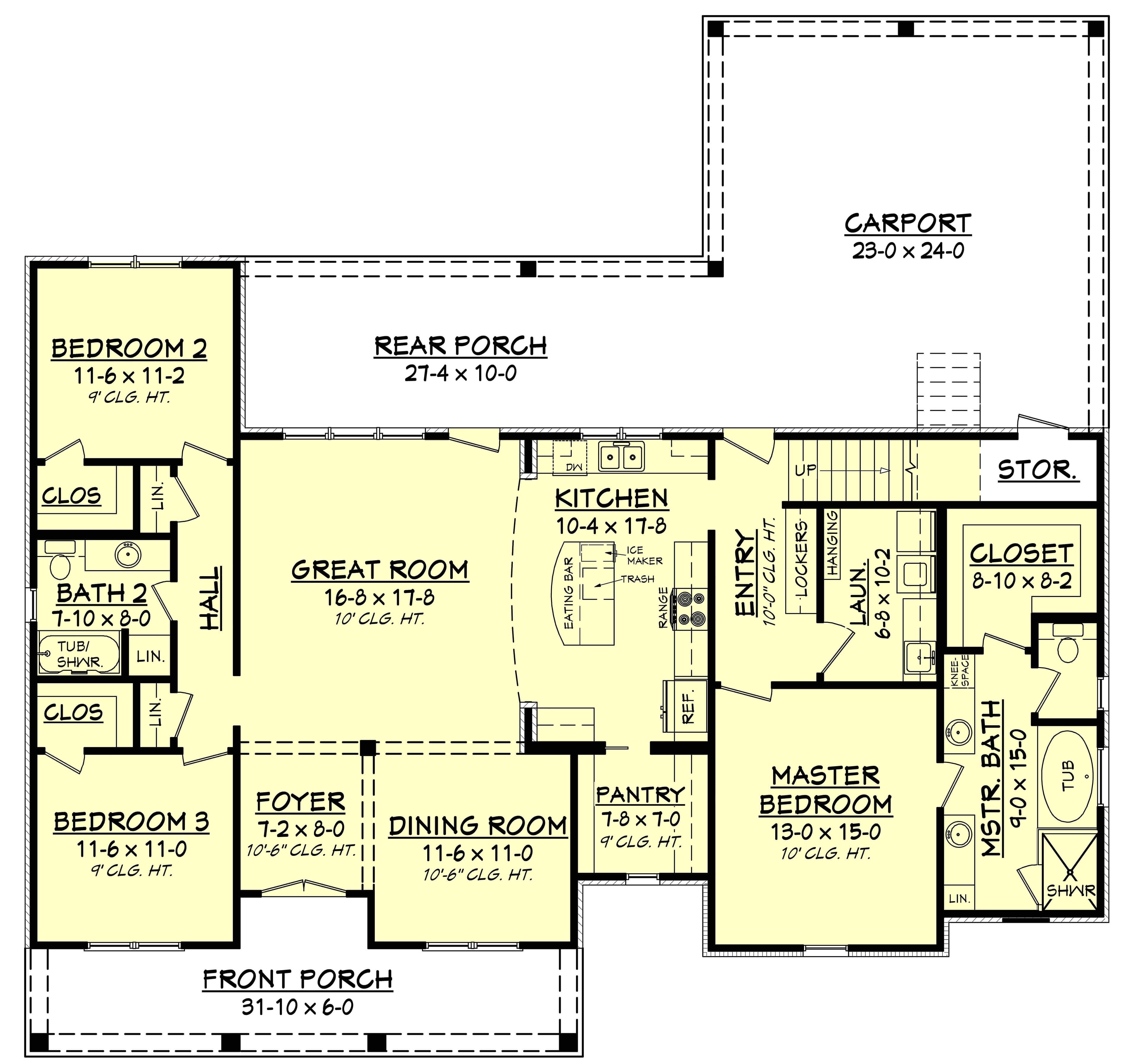 home plan 29149