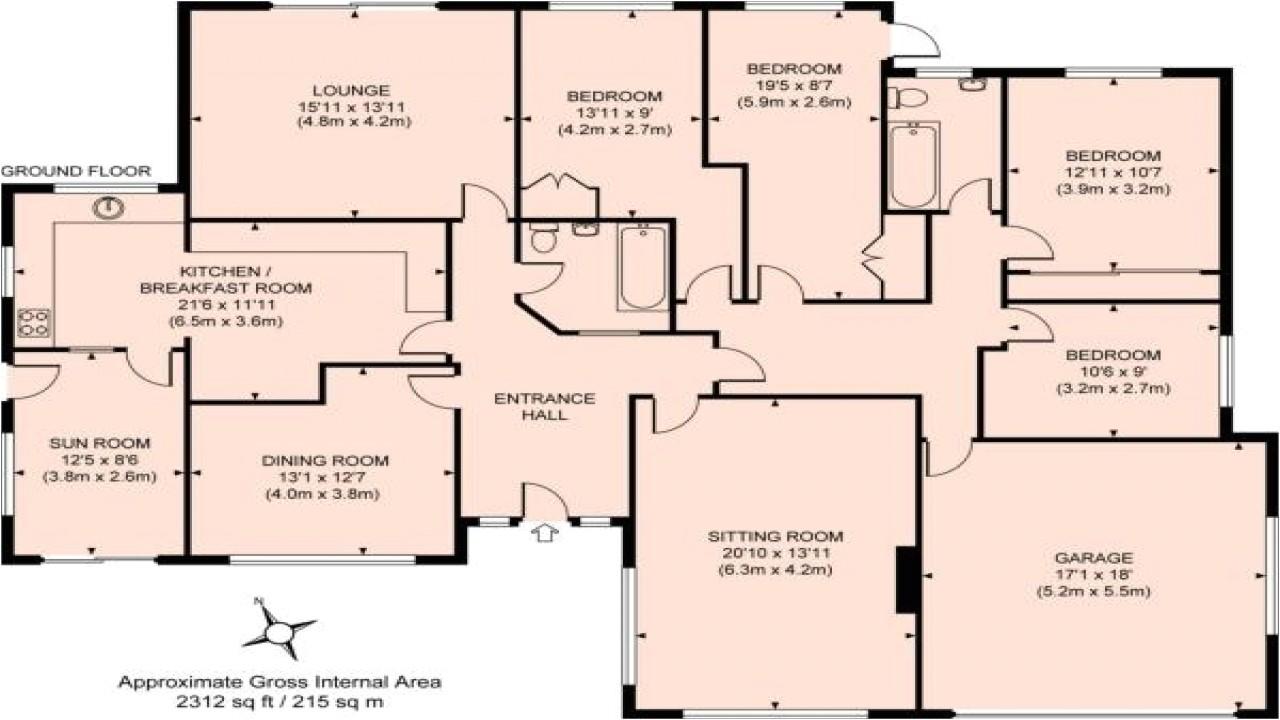 f57f8db7e00b17e4 3d bungalow house plans 4 bedroom 4 bedroom bungalow floor plan