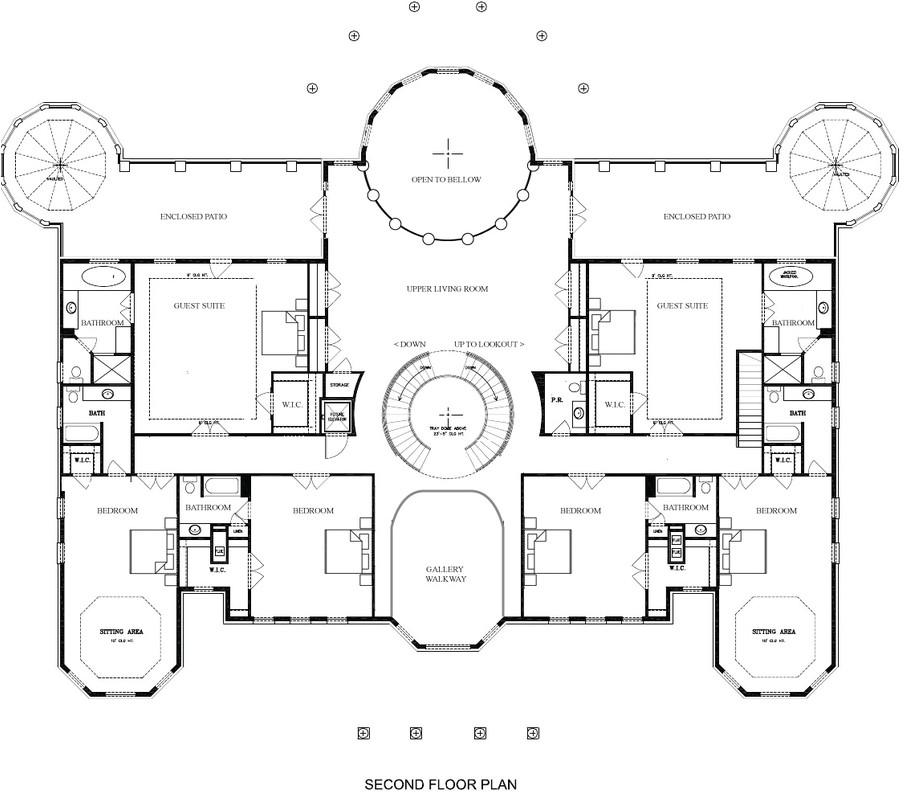 mansion floor plans pictures