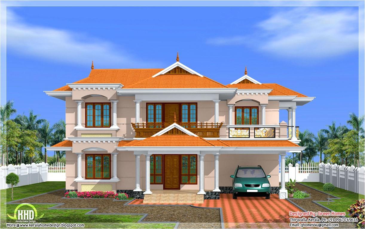 kerala model house 2700sqft