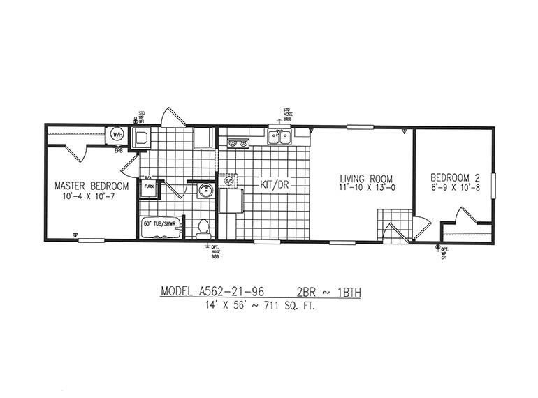 1998 homes of merit floor plans
