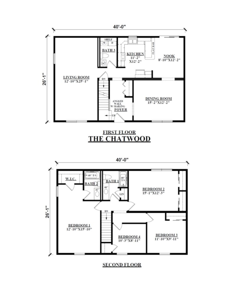 Homes Of Merit Floor Plans Modular Home Floor Plans 2 Storyon Champion Homes Of Merit