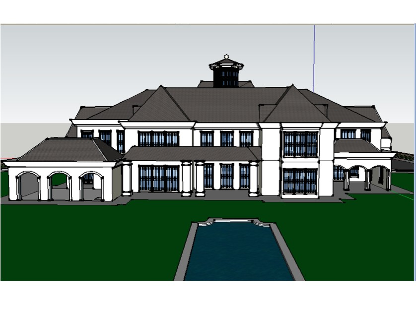 another homes of the rich readers google sketchup mansion