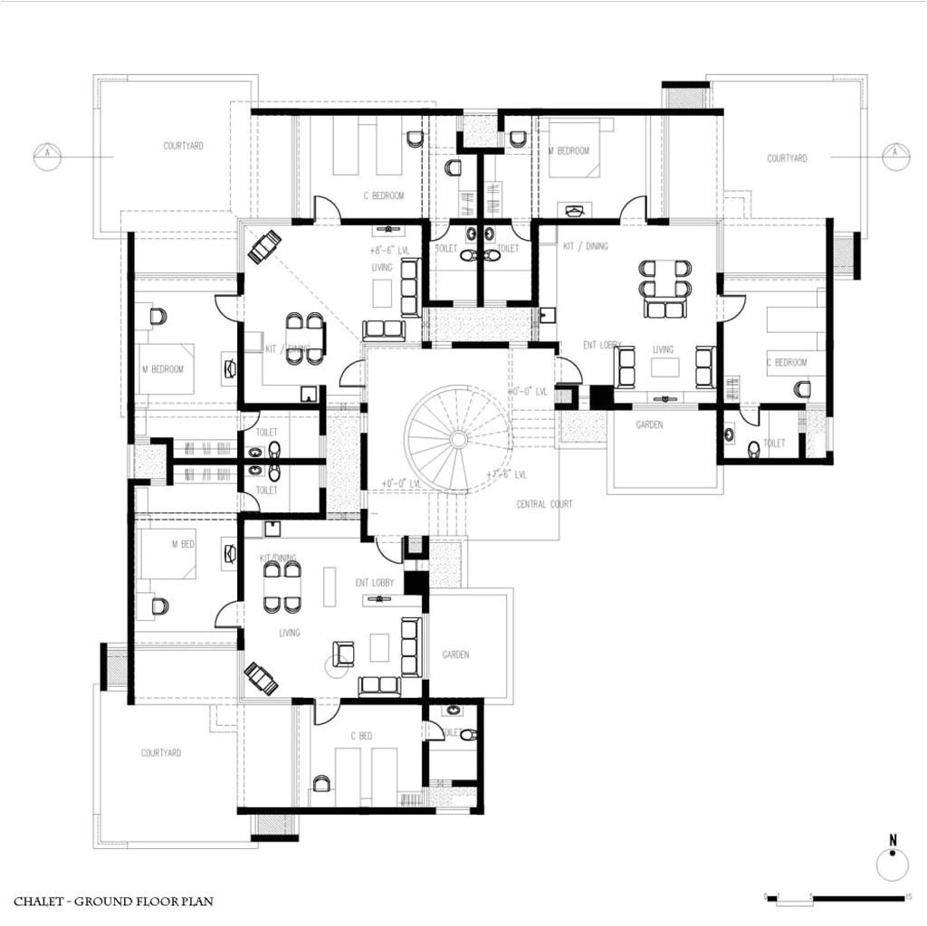 amazing home plans with guest house 8 modern guest house plans guest house chalet project plan