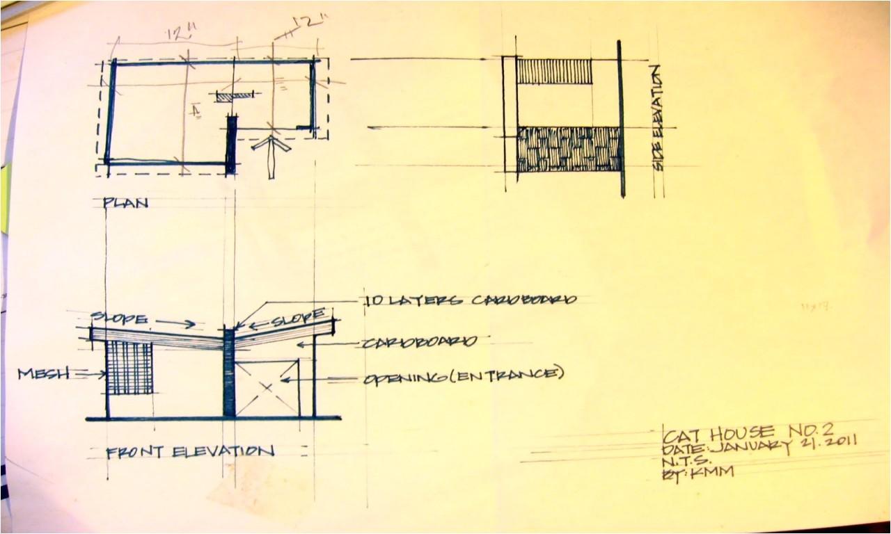 2305dc180d5d0291 cardboard cat house plans cat house building plans