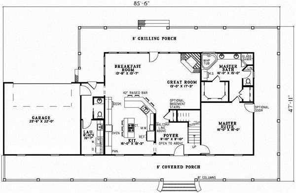 country style house plans square foot home stor