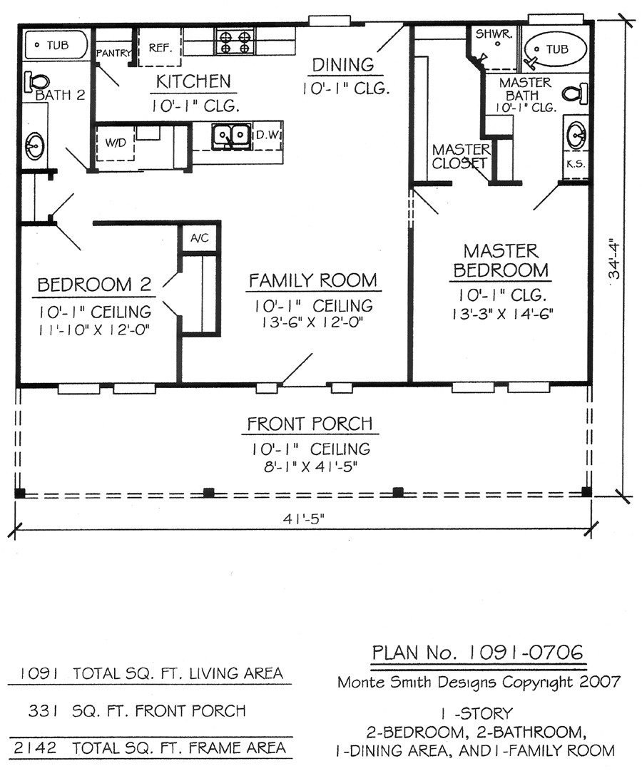 nice two bedroom house plans 14 2 bedroom 1 bathroom house plans