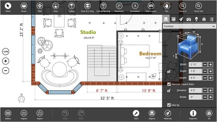 live interior 3d pro interior designing app windows 8 on sale
