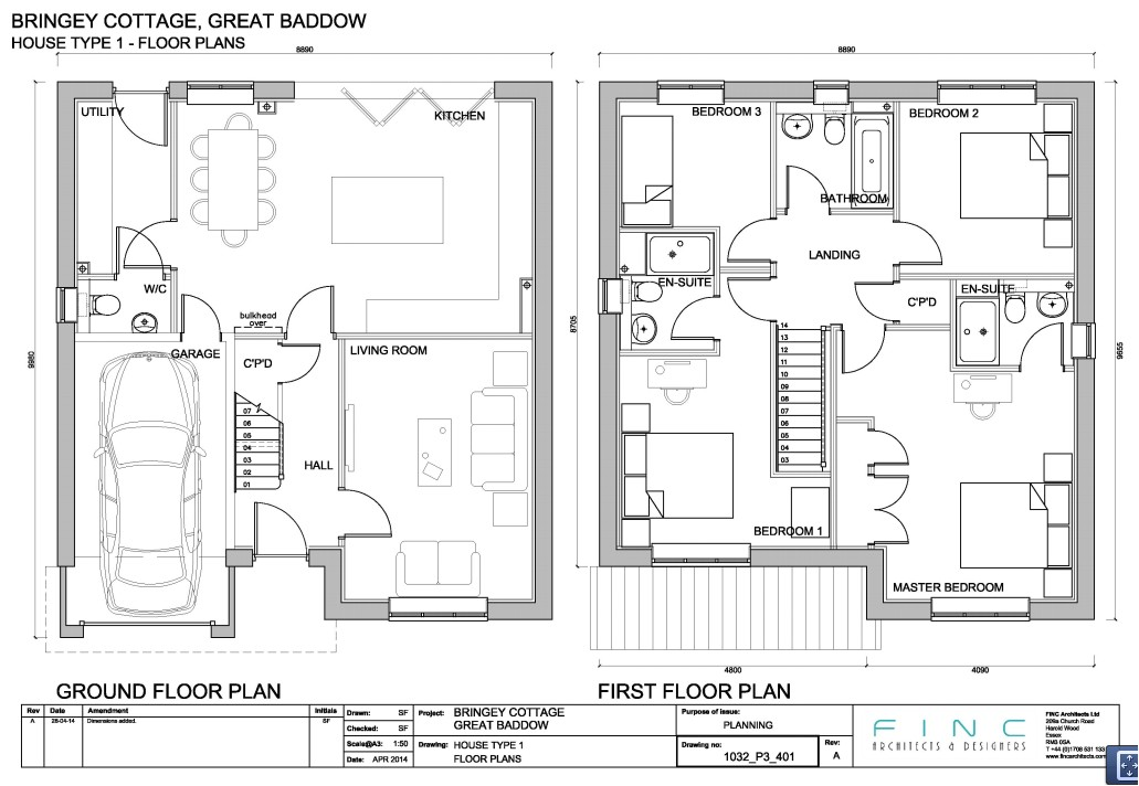 House Plan Application Bringey Cottage the Bringey Planning Application