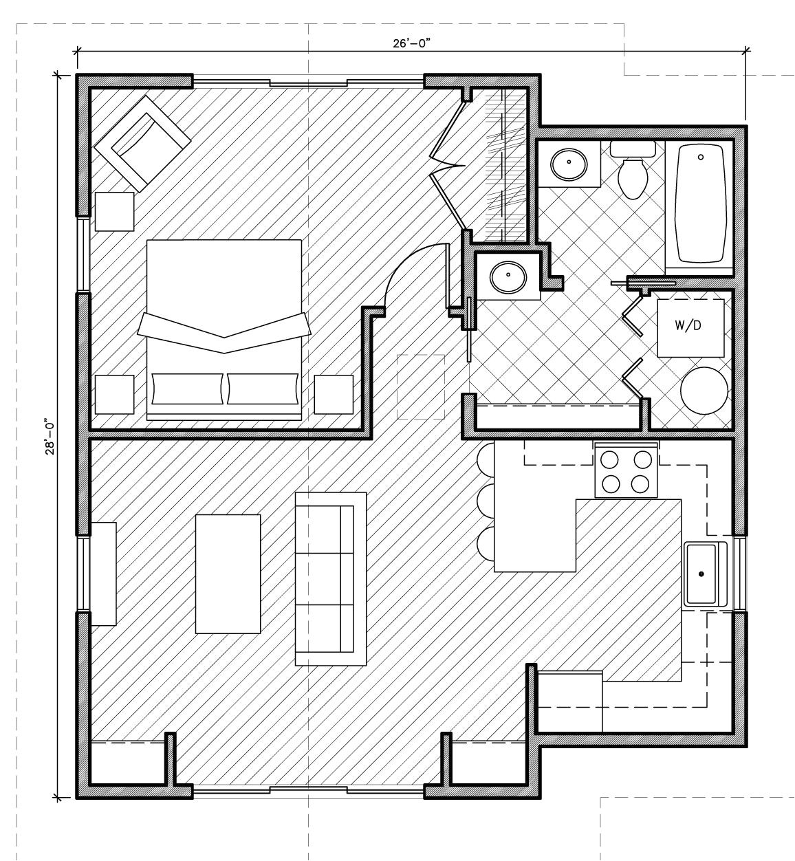 small house plans under 1000 sq ft with garage