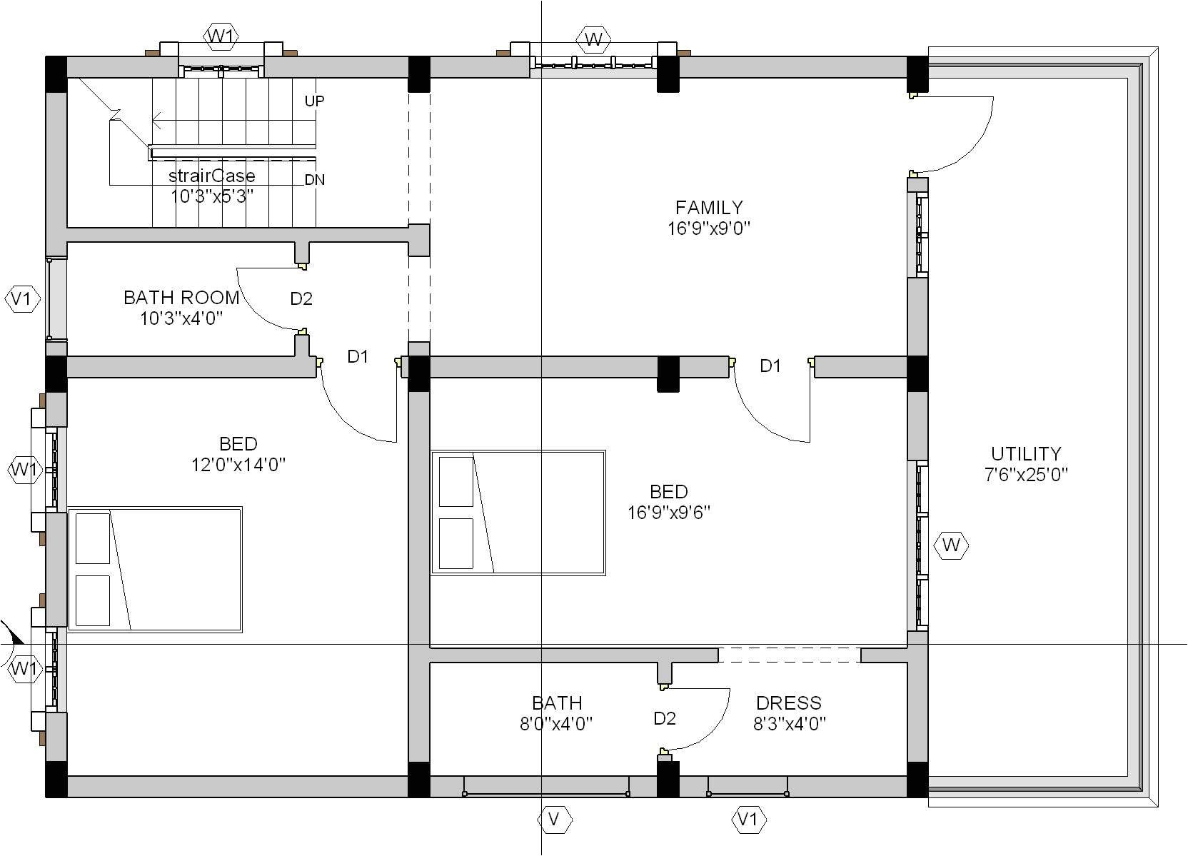 House Plan for 30×40 Site 30×40 House Plans Home Deco Plans