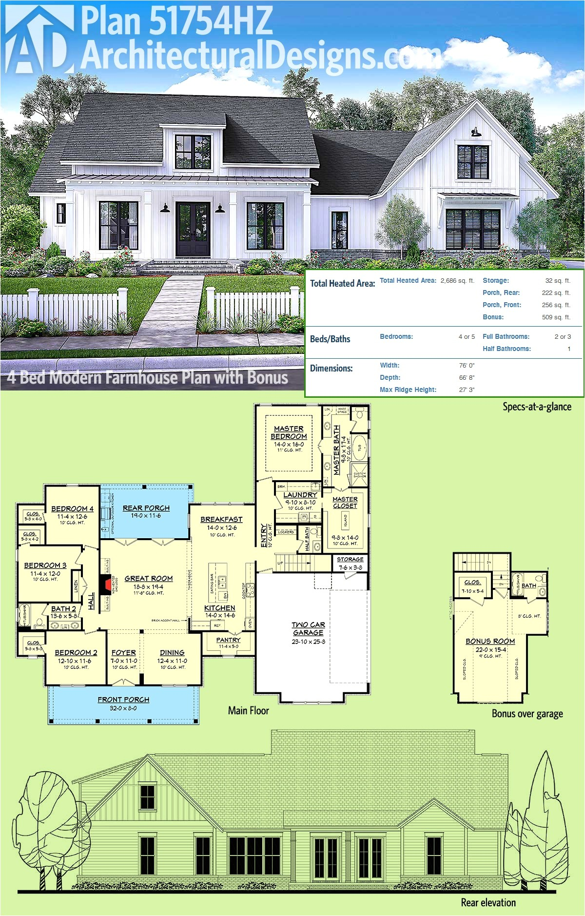 one story house plan with game room