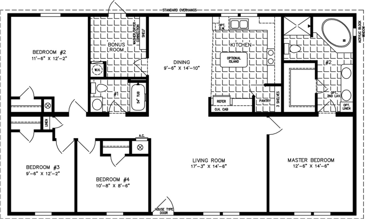 1400 sq ft house plans