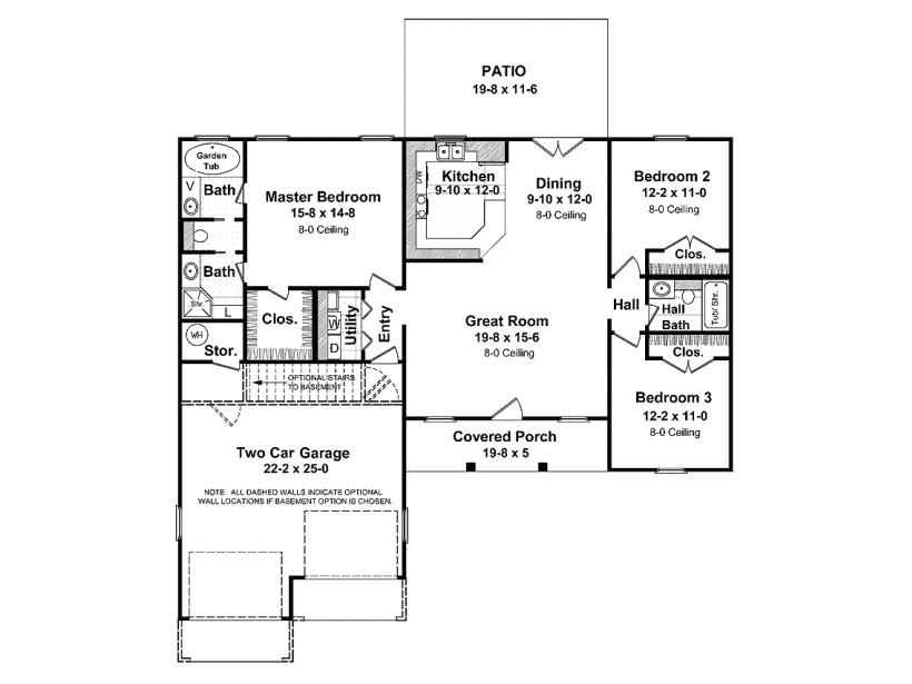 1400 square feet house plans