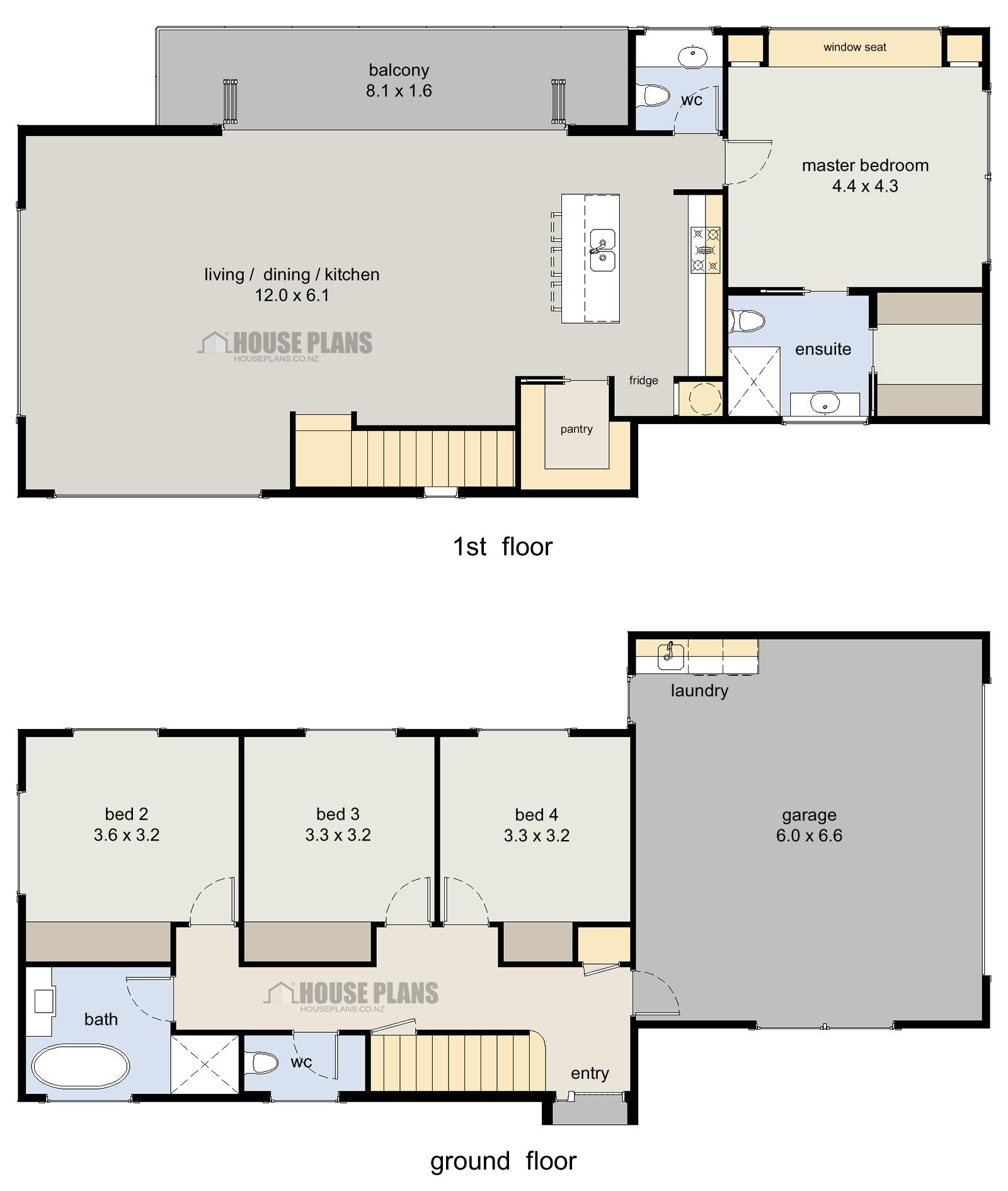 4 bedroom house designs canada
