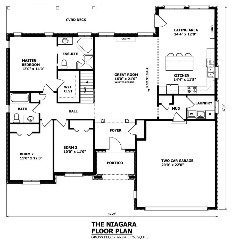 modern house plans canada