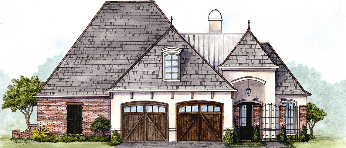 covington louisiana house plans