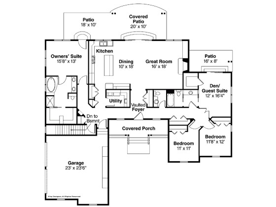 House Plans for 2400 Sq Ft Bold Inspiration 10 2400 Sq Ft House Plan Ranch with