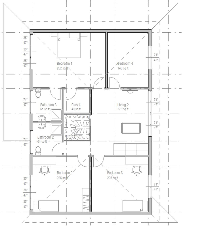 2400 square feet 5 bedroom 3 bathroom 1 garage 37820