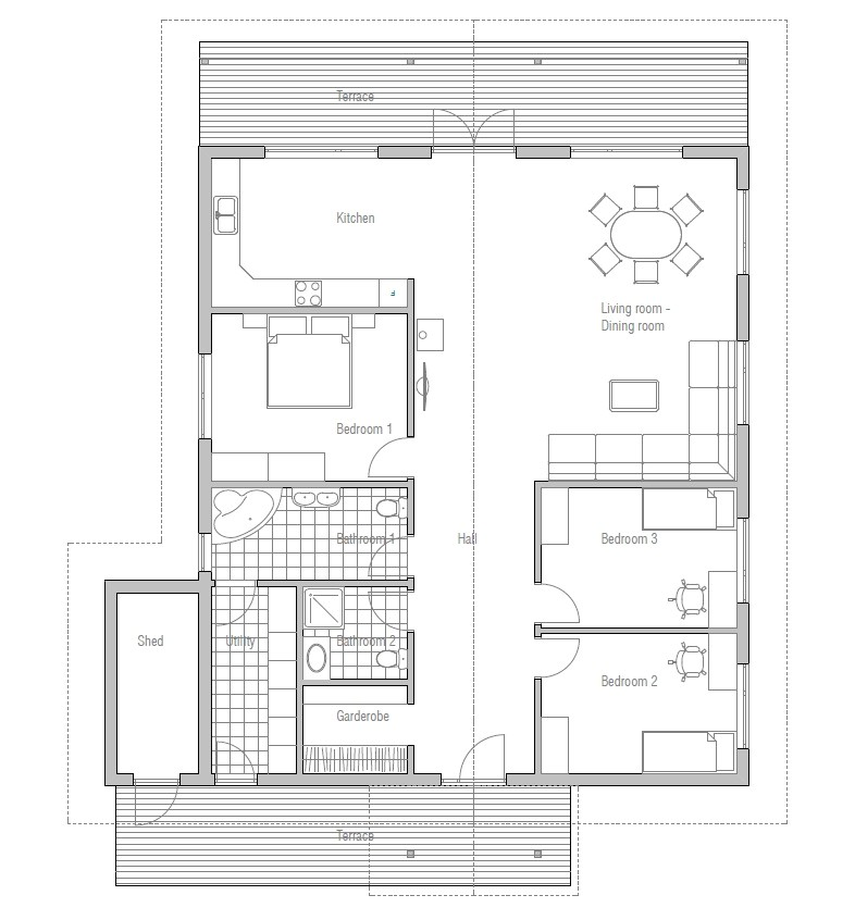 affordable home plan ch4
