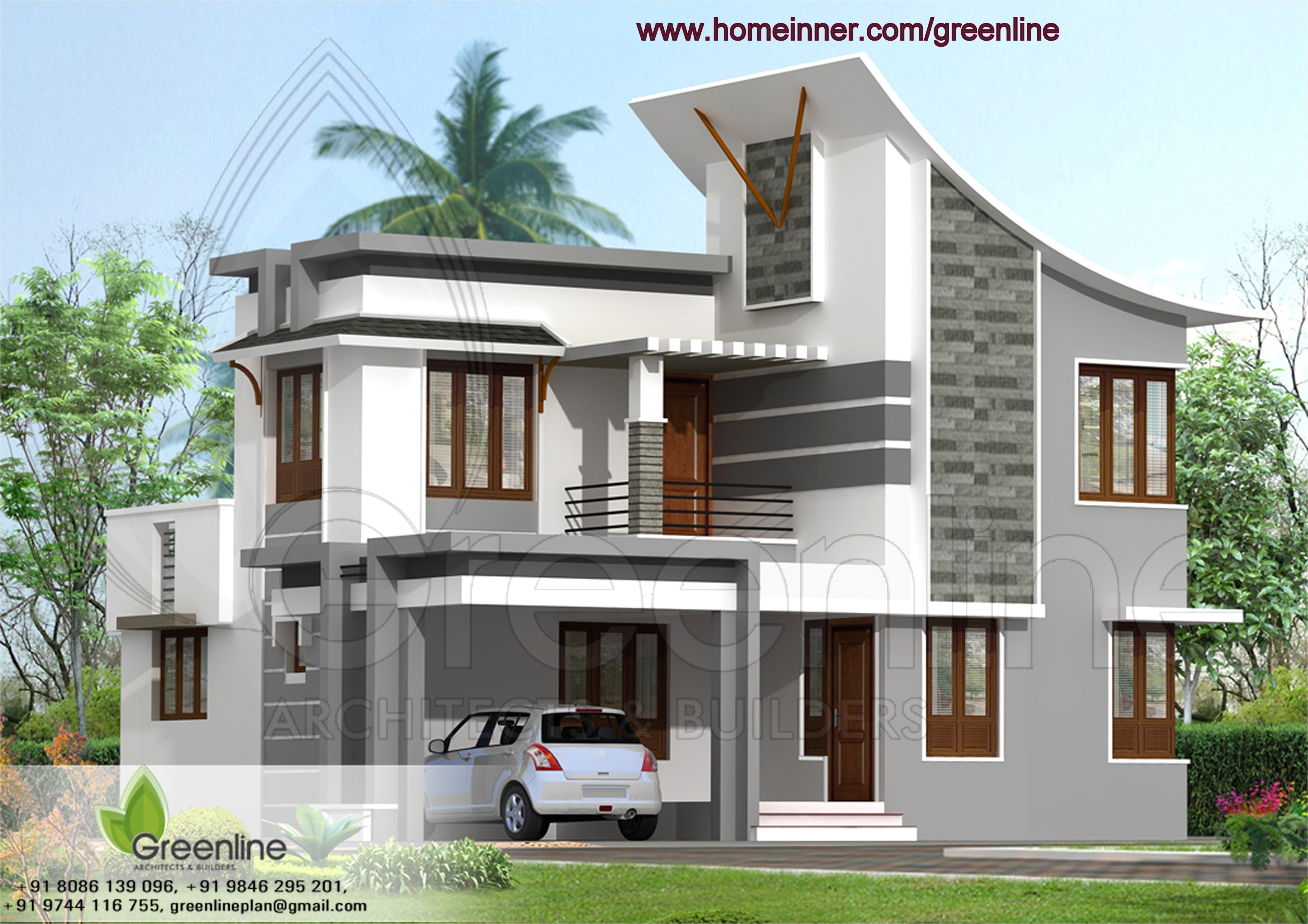 house design indian style plan and elevation