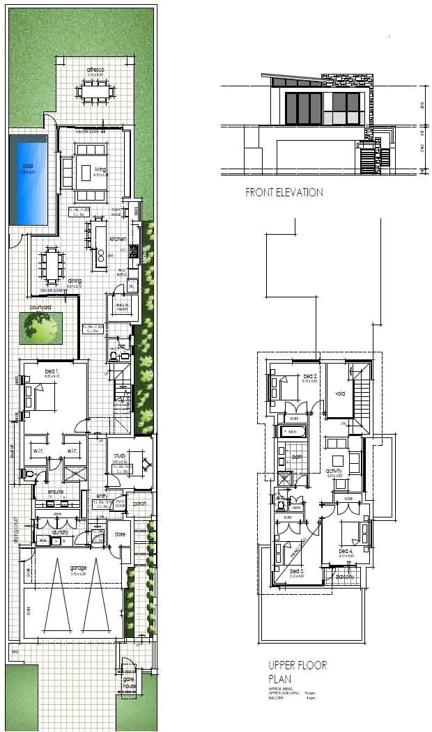 House Plans for Narrow City Lots Best 25 Narrow House Designs Ideas On Pinterest Narrow