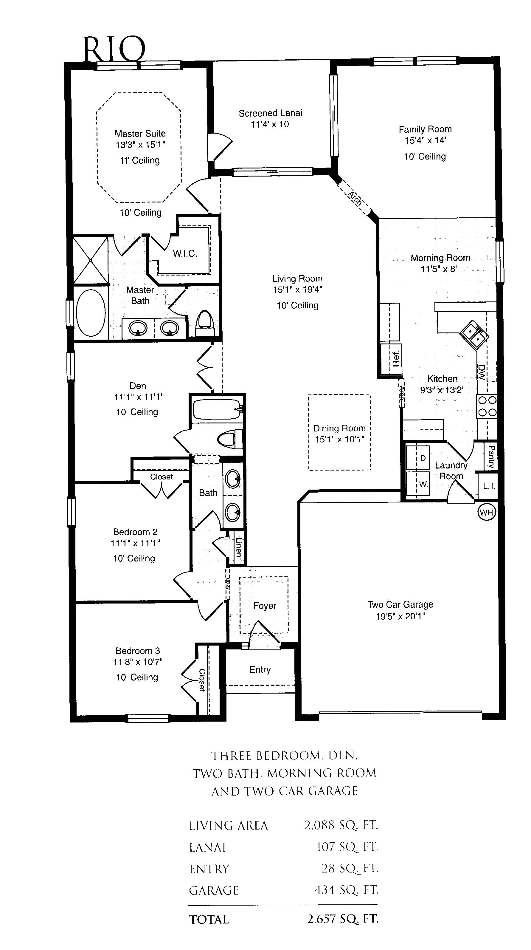 single family house plans