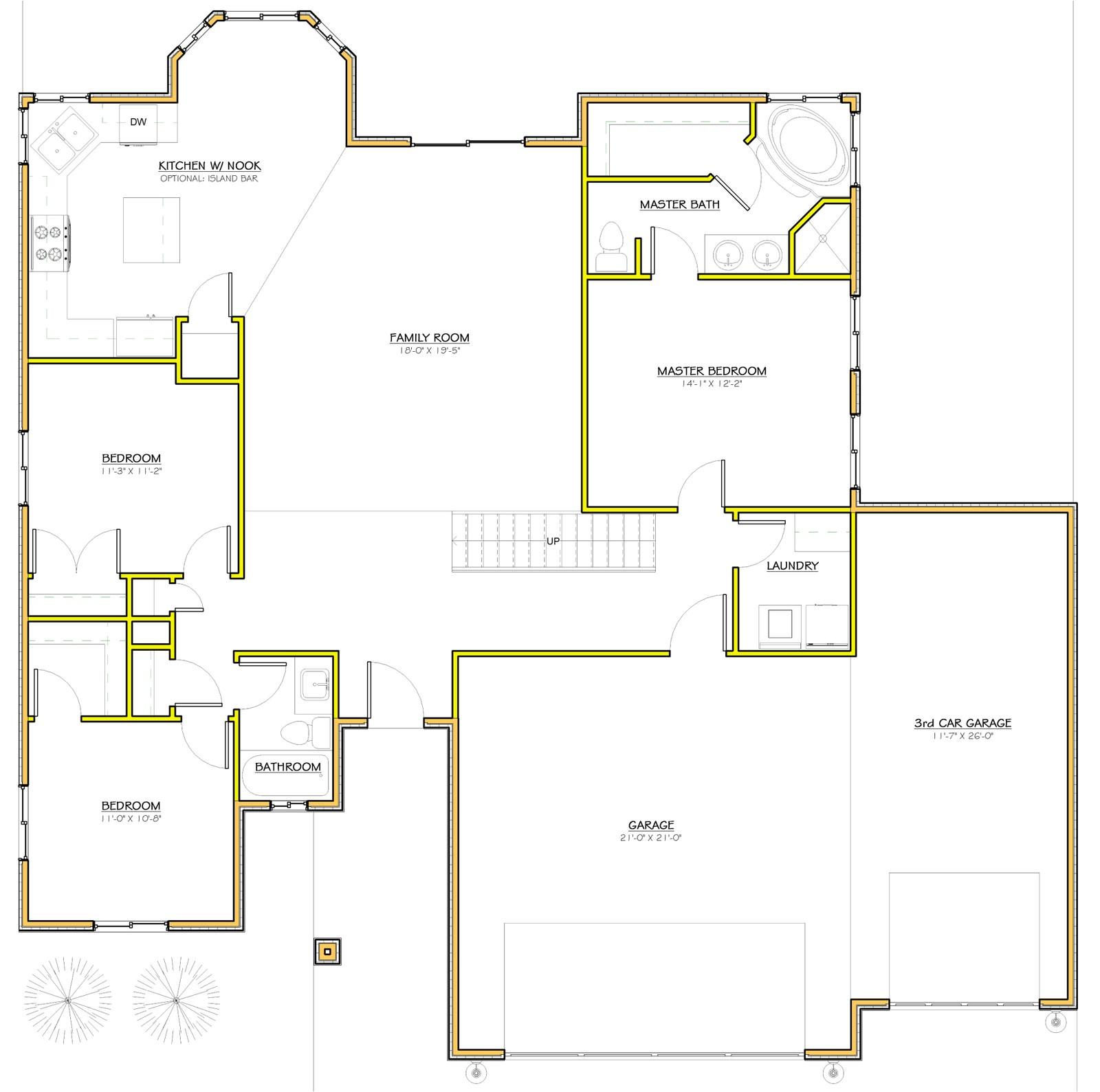 House Plans In Utah 1 Utah Homes Floorplan