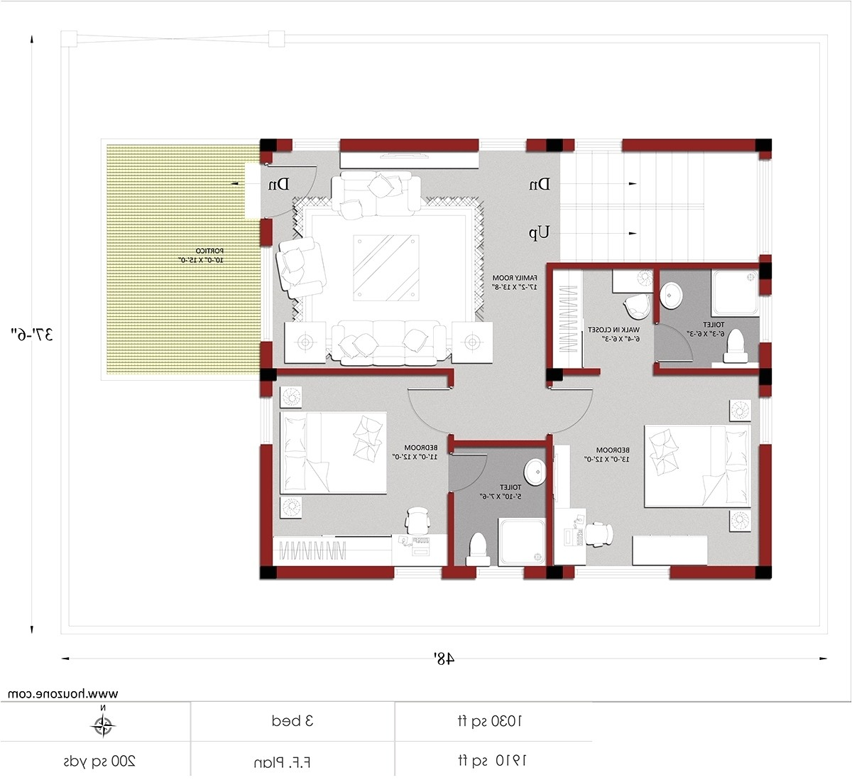 home plan for 1200 sq ft in india