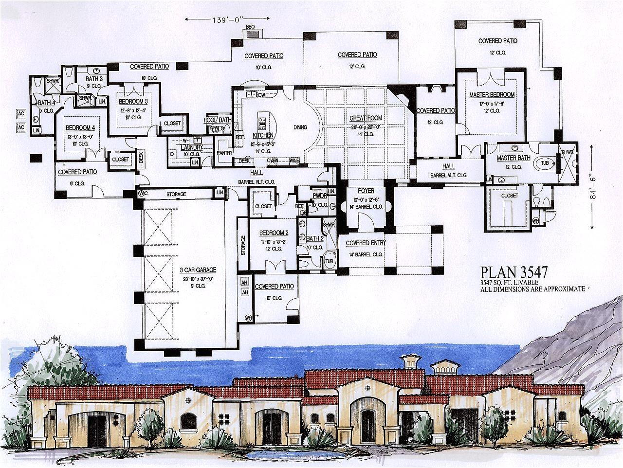 4000 sq feet house plans