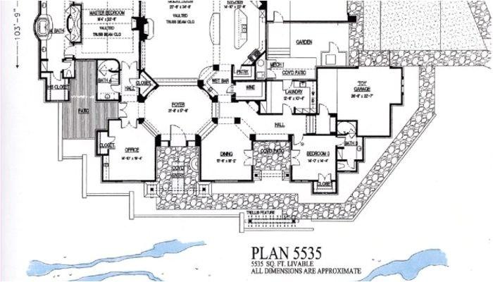 4000 square foot floor plans