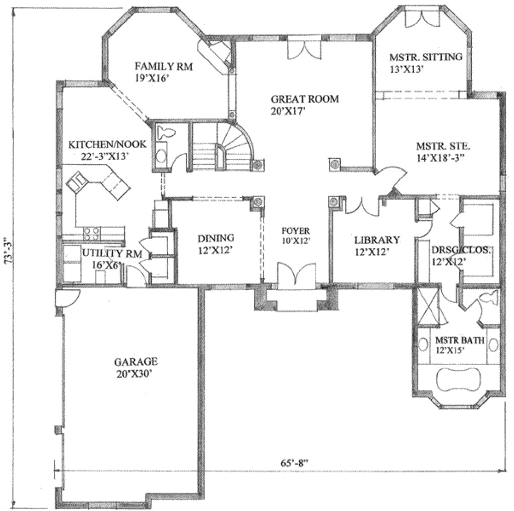 4000 square foot ranch house plans unique traditional style house plan 4 beds 3 50 baths 4000 sq ft plan