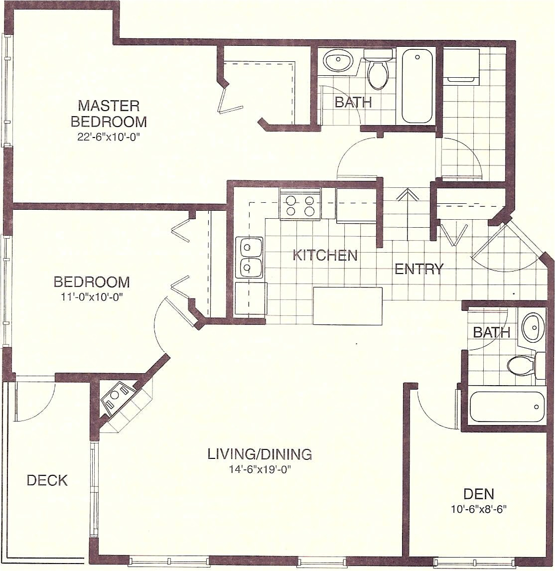 1000 square foot house design
