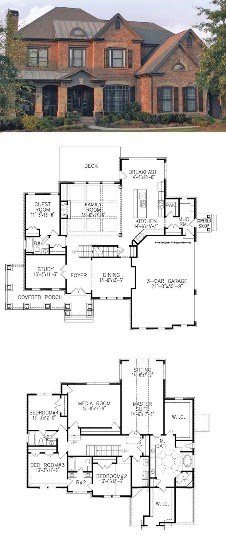 two story house plans for land saving 3839